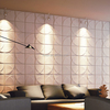 New design modern wall art panels leather effect 3d wall panel for sale