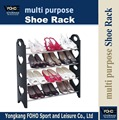 SR0064 Plastic and iron pipe new style popular kids shoe rack
