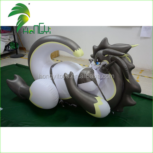 Hongyi New Inflatable Sexy Dragon toys with SPH for Adult