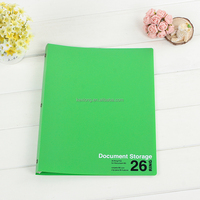 hard plastic paper file folder with pp clip