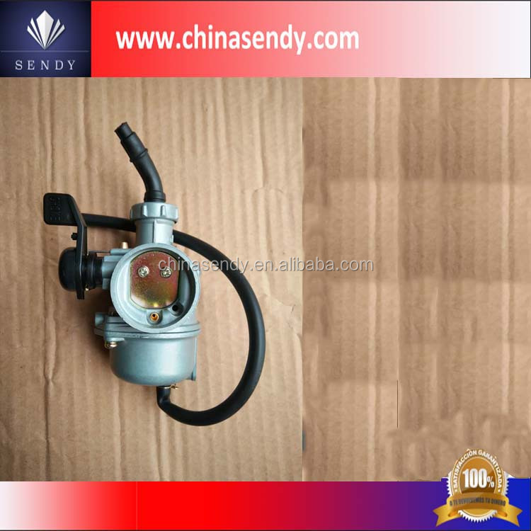 good quality cheap competive motorbike gasoline engine JL70 carburator