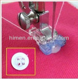 household sewing machine parts presser foot HM-7305 / Sew-on Button foot 5011-5 presser foot for household sewing machines