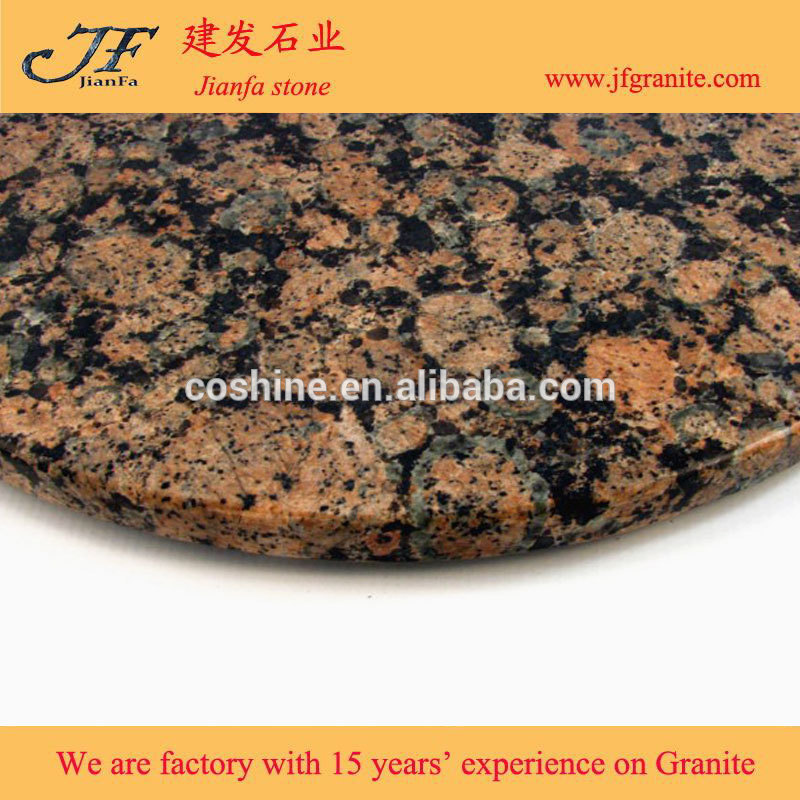 Factory direct selling granite kitchen countertop baltic braun granite with great price