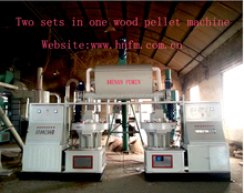 CE certificated wood sawdust block making machine
