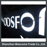 Retail Store Signage & Channel Letter & LED Sign & Brand Logo OEM customized