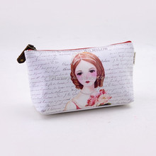 Personalized Beautiful Clear Zipper Cosmetic Bag