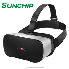 3D All in one vr glasses box high quality virtual reality vr headset vr glasses