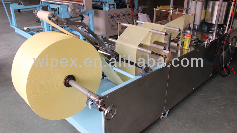 manufacturing spunlace industrial wiping fabric