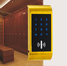 Zinc alloy intelligent cabinet lock,sauna lock, keyless locks lockers