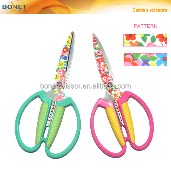 "SGA0016 6-1/2"" bonsai tools garden plant trimming scissors"