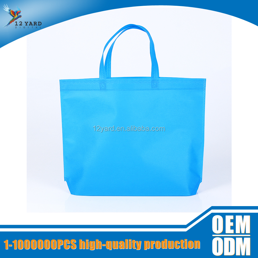 environmental canvas promotional new design shopping bag with logo printed