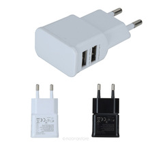 EU double port wall charger