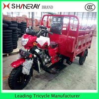 Strong powered cargo tricycle and Motorized Driving Type 3 wheel motor trike for sale