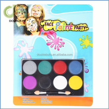 8 colors face painting kit children non toxic Halloween make up face paint set