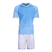 OEM china wholesale grade original soccer tops and shorts online shop cheap plain soccer uniforms bulk in stock soccer kits