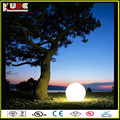 outdoor plastic light balls/ color changing waterproof led garden ball