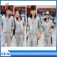 Couple Lover Sportswear Women Velour Fitted Cricket Football Tracksuit Pants Bottom Plain Mens Tracksuit Set