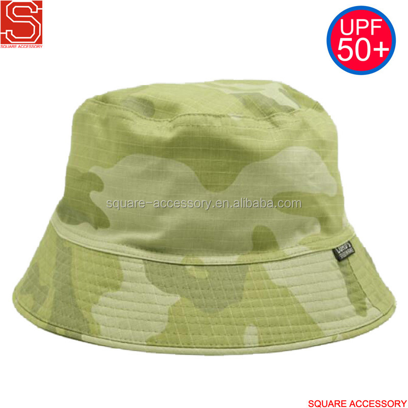 Custom High Quality Embroidery Cotton Fishing Bucket Hat