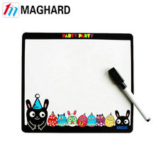 Magnetic cheap smart board,memo board,magnetic message board