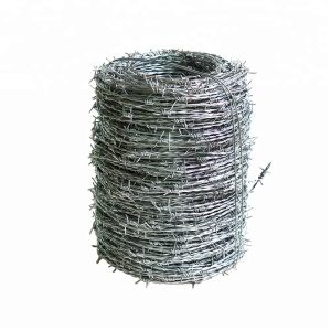 Cheap High Quality Galvanized Barbed Wire Price Per Roll