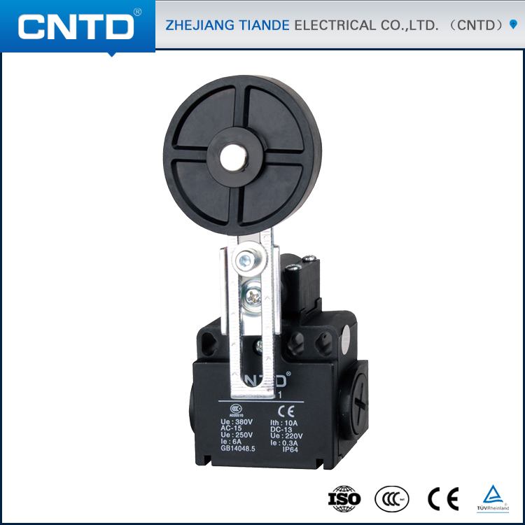 CNTD Factory Manufacturer Of 1NO 1NC Force Break Snap Action Rotary Geared Limit Switches