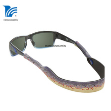 Promotional customized fast delivery thin croakies available thin croakies custom sunglass strap