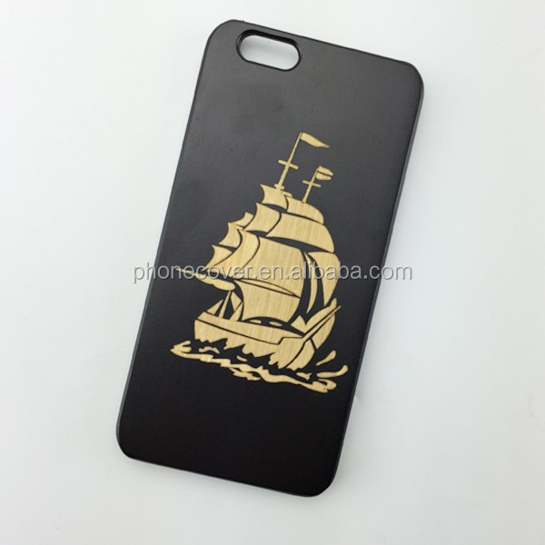 Real Wood Factory Eco-friendly Personalized Wooden Cell Phone Case for iPhone, brand your product