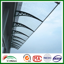 polycarbonate awning door canopy DIY awning canopy PC window awning PC canopy