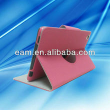 Hot selling basketball line leather stand case for iPad mini