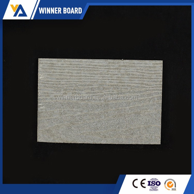 Waterproof materials/ fiber cement External siding board /colorized wood grain wall panel