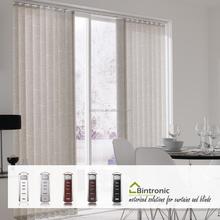 Bintronic Show Pieces For Home Decoration Use Motorized Vertical Blinds Accessories Vertical Blind