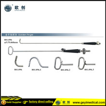 Laparoscopic articulating golden finger retractor