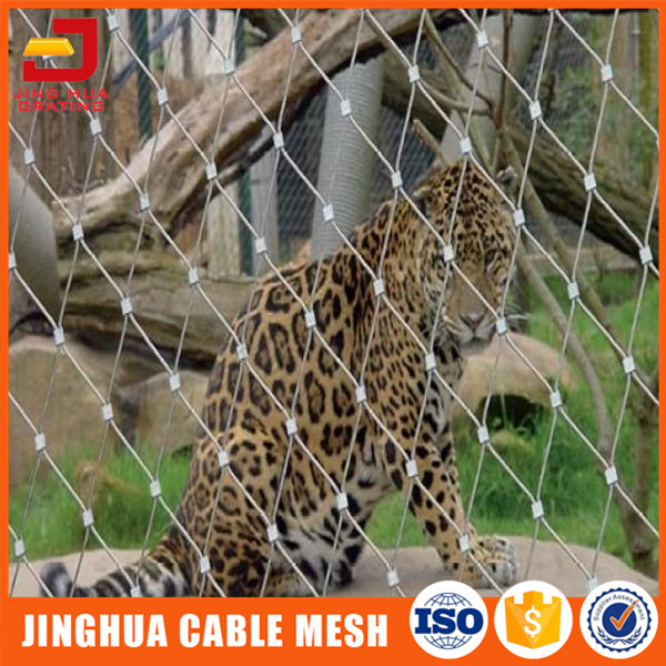 Bird netting at stainless steel durable cable mesh