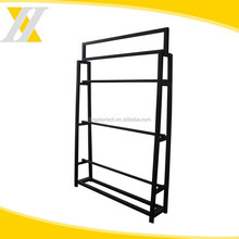Foshan Customized Popular Welding Single Side Metal Picture Hanging Display Rack, Shelf