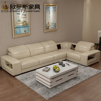 Low Price High Quality sectional sofa leather, modern italian leather sofa OCS-659