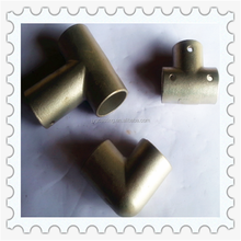 Alibaba express best selling pipe and pipe fittings China manufactures custom corner connector 3 way elbow pipe fittings