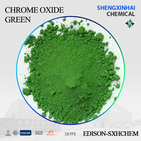 Inorganic pigment light green or dark green powder coating Chrome oxide green SP-1 type paint for ceramic