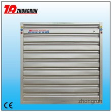 automatic layer poultry equipment automatic shutter air exhaust fan
