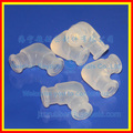 white silicone tube connectors_silicone connecting sleeve_silicone connecting pipe