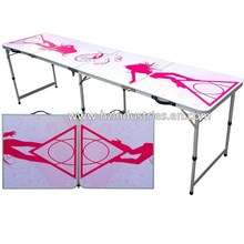 Beer pong tables custom beer pong game table party pong table supplier