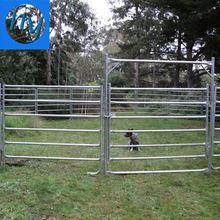 Ranch yard horse fence panel reasonable price paddock fence sheep red top 4'high non climbing horse fence