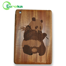 Custom panda engraved tablet casing for Apple Ipad mini