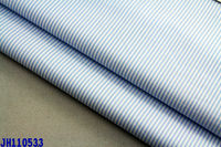 40s striped plain mercerised 100% cotton yarn dyed polo 4 oz poplin fabric
