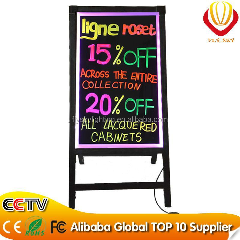 hot new products for led board write led light board 48 flash modes aluminum alloy canton fair