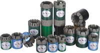 High Performance Wireline Impregnated Diamond Core Drill Bits 14mm For Hard Formation