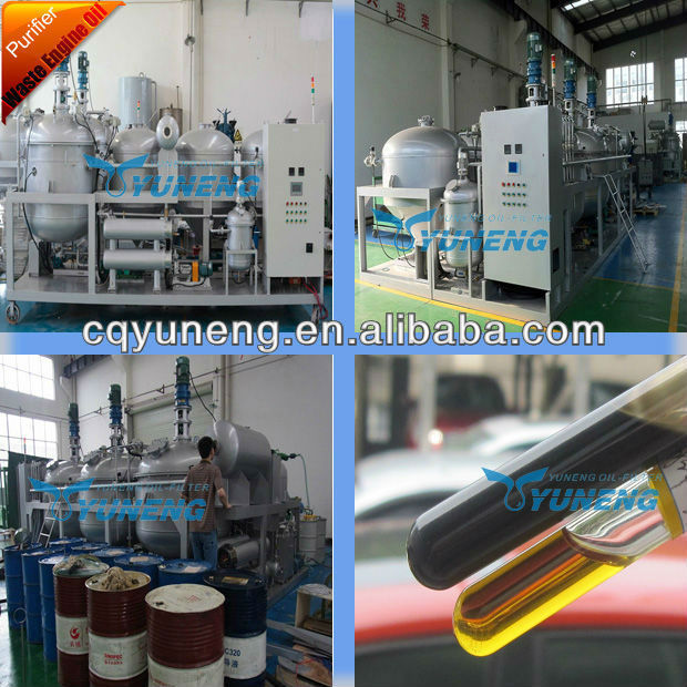 YNJBJ Series Diesel Engine Oil Producing Plant