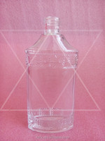 140ml transparent flat white fancy glass beverage vodka/wine etc. bottle
