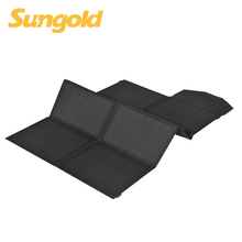 100w foldable mobile solar charger with backpack