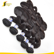 big body waves 100% brazilian virgin hair weaving natural color wholesale price