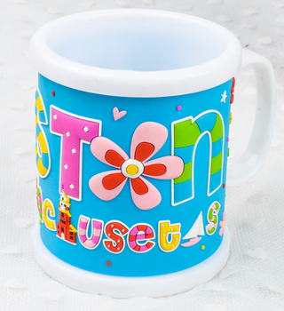 soft pvc Plastic Mug for promotional gifts